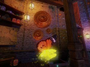 Butterfly in Walz of the Wizard